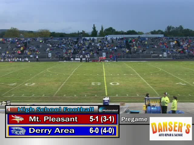 Derry Area Vs Mt Pleasant Football Westmorelandsports1