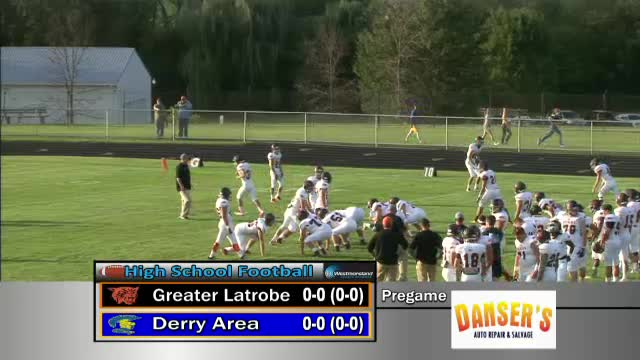 Derry Area Vs Greater Latrobe Football Westmorelandsports1