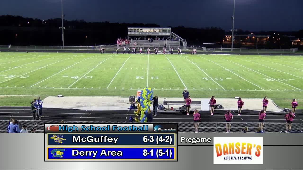 Derry Area Vs Mcguffey Football Westmorelandsports1